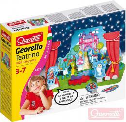 QUERCETTI Georello Teatrino Fairy stavebnice pøevodová 60 dílkù v krabici plast