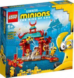 LEGO MINIONS Mimoòský kung-fu souboj 75550 STAVEBNICE