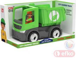 EFKO IGRÁÈEK MultiGO CITY auto sklápìèka zelená s øidièem