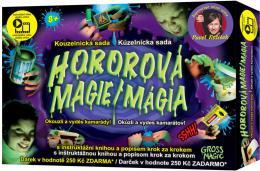 Hororová magie kouzelnická sada s dárkem a instruktážní knihou Pavel Kožíšek