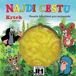 JIRI MODELS Najdi cestu bludištì s kulièkou Krtek (Krteèek)