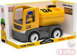 EFKO IGRÁÈEK MultiGO BUILD auto cisterna žlutá s øidièem