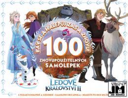 JIRI MODELS Album samolepky Frozen 2 Bav se a nalepuj zas a znovu!