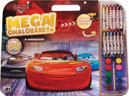 JIRI MODELS Mega omalovánkový set Auta (Cars) s voskovkami a barvièkami