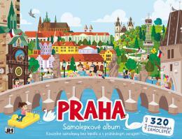 JIRI MODELS Album samolepky Praha Bav se a nalepuj zas a znovu!