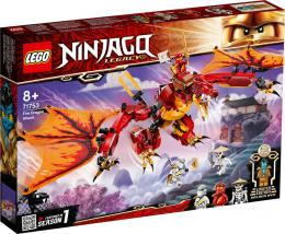 LEGO NINJAGO Útok ohnivého draka 71753 STAVEBNICE