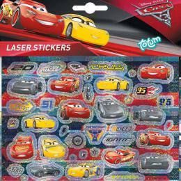 Samolepky laser Cars 3 (Auta) 1 arch v sáèku