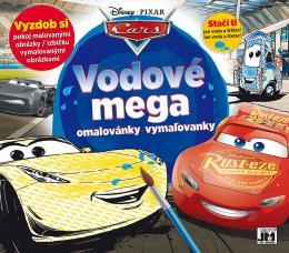 JIRI MODELS Mega omalovánky vodové Auta (Cars)