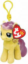 PLYŠ Klíèenka TY My Little Pony Fluttershy 11cm pøívìsek na klíèe