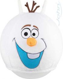 JOHN Hopsadlo Frozen Olaf 45cm míè skákací s textilním potahem Ledové Království