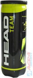 ACRA Míèky tenisové Head Team set 3 ks v plastové dóze