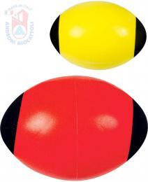 ANDRONI Soft dìtský ragby míè 24cm americký fotbal rùzné barvy