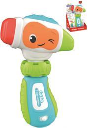 CLEMENTONI Baby Moje první kladívko na baterie Svìtlo Zvuk pro miminko
