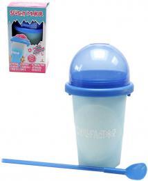 Chillfactor Slushy Maker výroba ledové tøíštì dìtský shaker Modrý mìní barvu plast