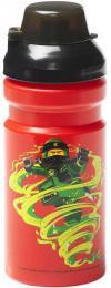 LEGO NINJAGO Láhev sportovní èervená na pití classic pro kluky 4056