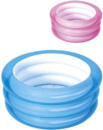 BESTWAY Baby bazének nafukovací 3 komory 70cm kulatý 2 barvy 51033
