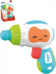 CLEMENTONI Baby Moje první vrtaèka na baterie Svìtlo Zvuk pro miminko