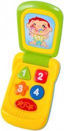 Baby mobil 14cm barevný vyklápìcí telefon pro miminko na baterie Svìtlo Zvuk