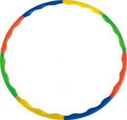 ACRA Obruè gymnastická hula hop 88cm dìtský fitness kruh 8-dílný