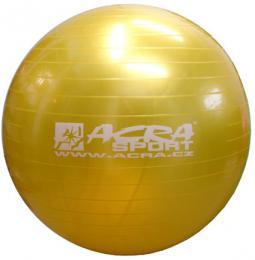 ACRA Míè gymnastický žlutý 65cm fitness balon rehabilitaèní do 130kg