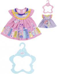 ZAPF BABY BORN Šatièky pro panenku miminko set s ramínkem 2 druhy