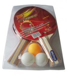 ACRA Sada na stolní tenis (ping pong) 2 pálky + 3 míèky Brother G9818/1