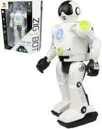 Robot Zigy interaktivní 33cm s funkcí èasu 17 pøíkazù USB zpívá vypráví tanèí REC