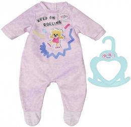 ZAPF BABY BORN Dupaèky obleèek set s ramínkem pro panenku miminko