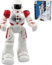 IR Robot Viktor interaktivní 26cm èervený 21 funkcí na baterie CZ Svìtlo Zvuk