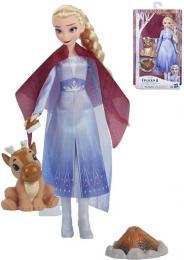 HASBRO Panenka Elsa U táboráku Frozen 2 (Ledové Království) set s doplòky