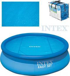 INTEX Plachta solární bazénová 244cm pro bazény Easy modrá 29020
