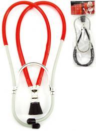 Stetoskop dìtský 26cm malý lékaø plast v sáèku