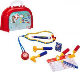 SIMBA Doktorský oválný plastový kuføík pro dìti s lékaøskými doplòky