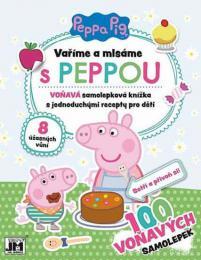 JIRI MODELS Vaøíme a mlsáme Peppa Pig aktivity s recepty a samolepkami