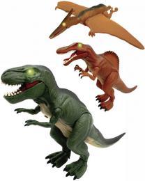 ADC Mighty Megasaur dinosaurus interaktivní na baterie 3 druhy Svìtlo Zvuk