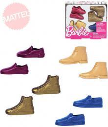 MATTEL BRB Barbie boty pro panáka Kena set 4 páry na kartì plast