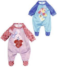 ZAPF Baby Born obleèek overal sametový pro panenku miminko 2 druhy