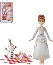 HASBRO Panenka Anna a Olaf Podzimní pinik Frozen 2 (Ledové Království) s doplòky