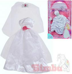 SIMBA Šaty Steffi svatební, nevìsta, panenka