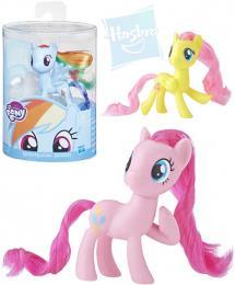 HASBRO MLP My Little Pony základní koník 7,5cm dlouhá høíva rùzné druhy plast