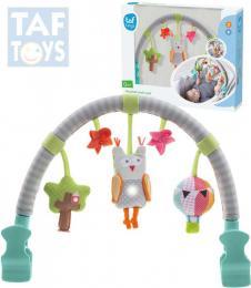 TAF TOYS Baby hrazdièka hudební sova Svìtlo Zvuk pro miminko