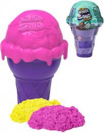Kinetic Sand Zmrzlinový kornout tekutý písek voòavý rùzné barvy