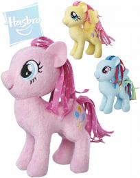 HASBRO MLP PLYŠ Poník My Little Pony s potiskem høívy 12cm 6 druhù