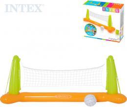 INTEX Nafukovací volejbal do vody set sí� 239x64x91cm s míèem 56508