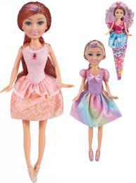 Panenka Sparkle Girlz princezna 28cm v kornoutu 4 druhy
