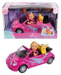 SIMBA Panenka Evièka s autem New Beetle
