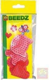 SES CREATIVE Mini podložky na zažehlovací korálky set 4 ks v sáèku plast