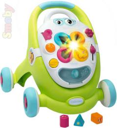 SMOBY Cotoons baby chodítko plastové zelené na baterie Svìtlo Zvuk