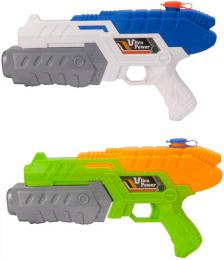 Pistole vodní støíkací 30cm se zásobníkem na vodu rùzné barvy
