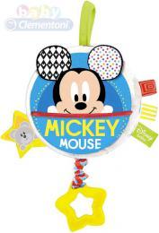 CLEMENTONI Baby chrastítko hudební skøíòka natahovací Mickey Mouse